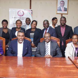 LSK Nairobi officials led by Chair call on DPP Noordin Haji