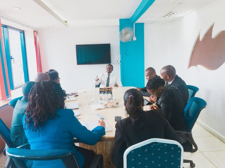 Branch holds discussion with Kenya Revenue Authority on possible Partnership