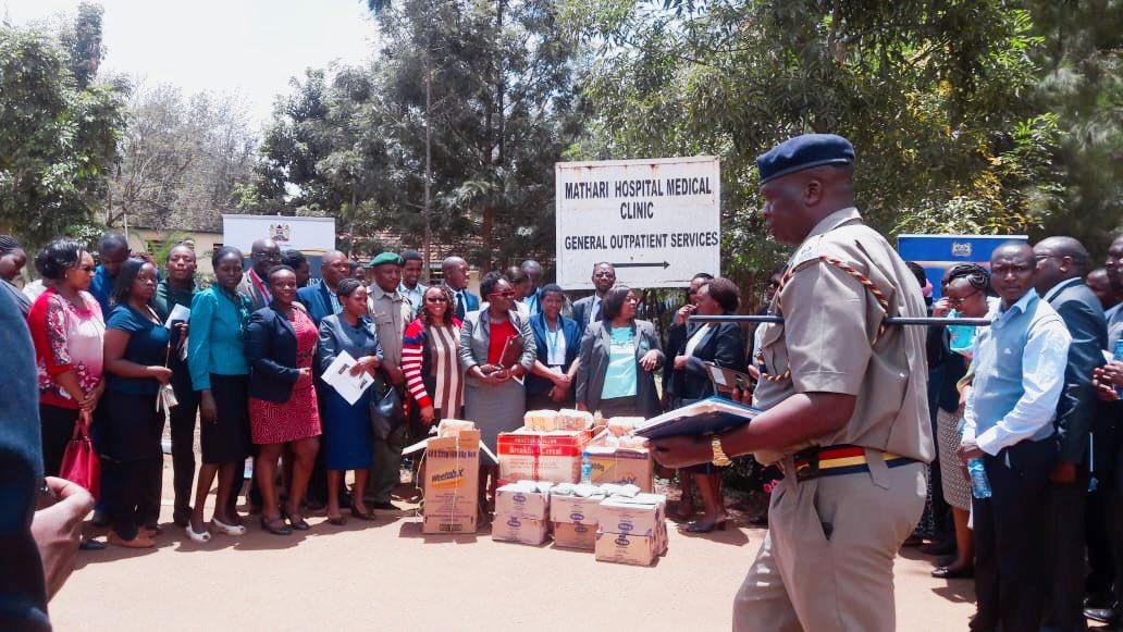 High Court Criminal Bar Bench CUC holds meeting with Mathari Hospital Management