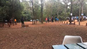 Members at the Lawyers Social Monthly Run at  Karura Forest November Edition