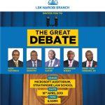 The Great Debate 18.04.2019