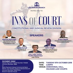 INNs of Constitutional and Judicial Review Division
